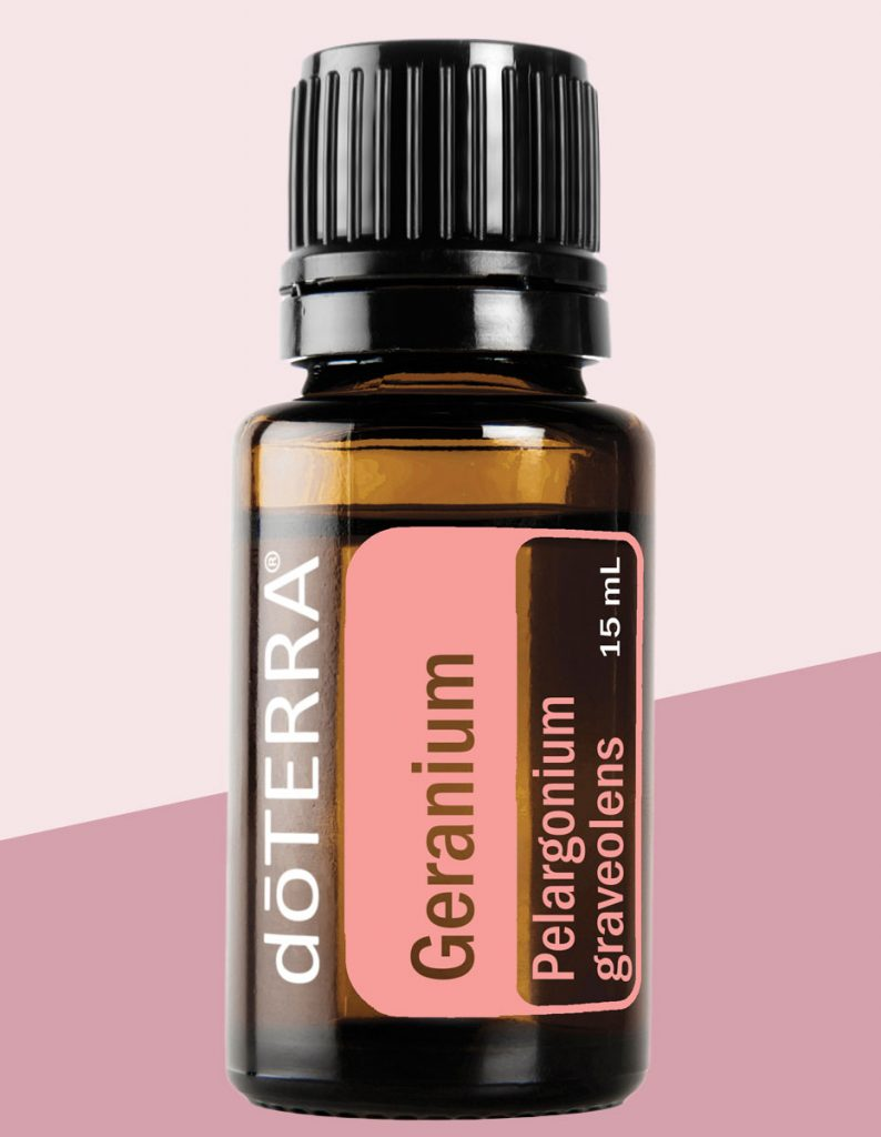 Black Cat Cottage doTERRA Single Essential Oil Geranium 15ml